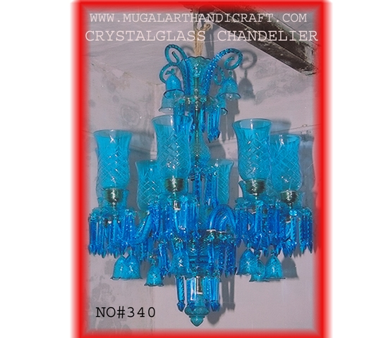 cobalt ant crystal blue chandelier bohemian and pin glass antique crystals light lighting