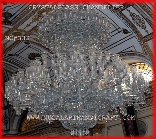 Crystal Chandelier - Mugal Art Glass - Manufacturer, Supplier ...