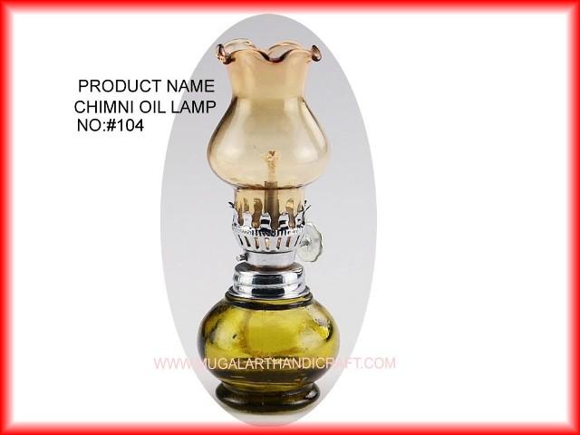 Glass Oil Lamps Mugal Art Glass Manufacturer Supplier