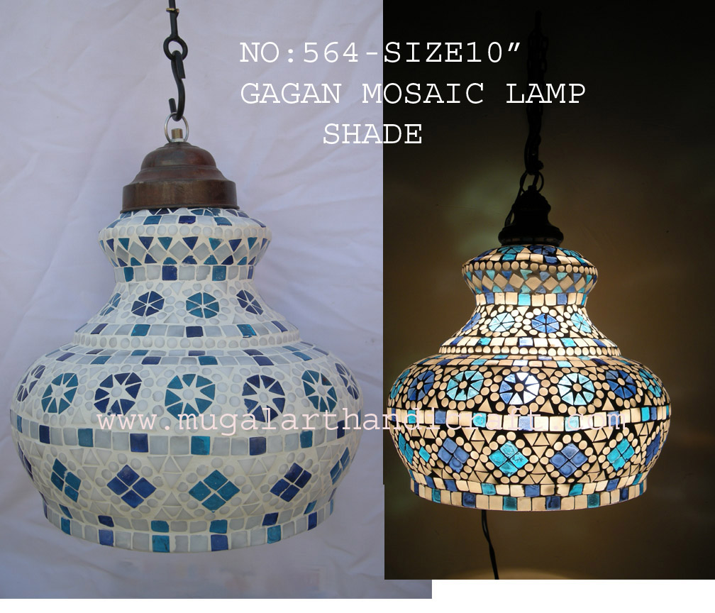 Mosaic Lamp Shade Mugal Art Glass Manufacturer