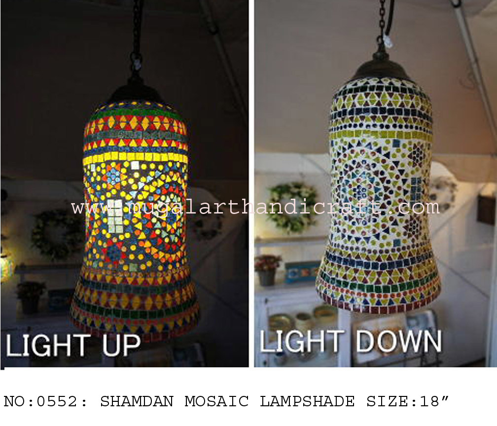 Mosaic Lamp Shade - Mugal Art Glass - Manufacturer, Supplier ...