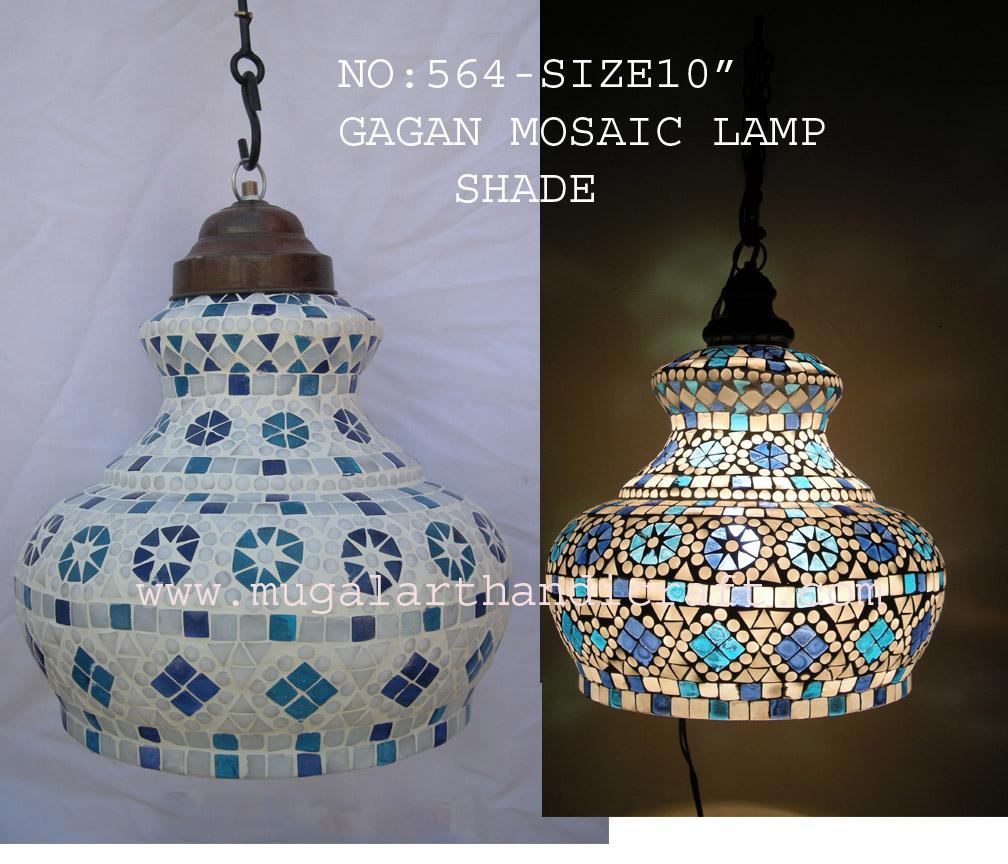 Mosaic Lamp Shade Mugal Art Glass Manufacturer